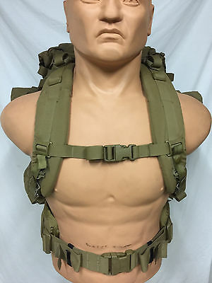 USMC FILBE Coyote complete Main Back Pack rucksack field pack + side PouchesNice