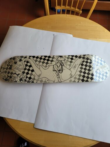 SUPER FISHAL  COLLAB SERIES (JEREMY FISH & MIKE GIANT) SKATEBOARD DECK