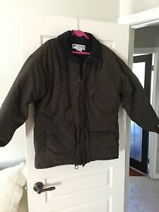 Men's Columbia  winter coat dark green
