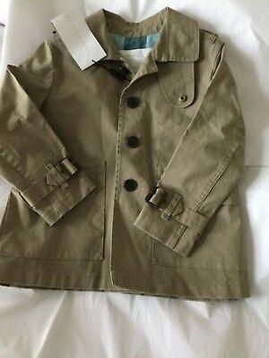Trench Coat Boys (NEW Burberry Farrow Toddler Boys Trench Coat -)