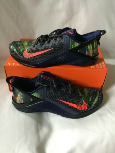 Nike Metcon 6 Flyease I am Not A Robot Running Shoes SZ 12.5 -DB3790 400-Blue