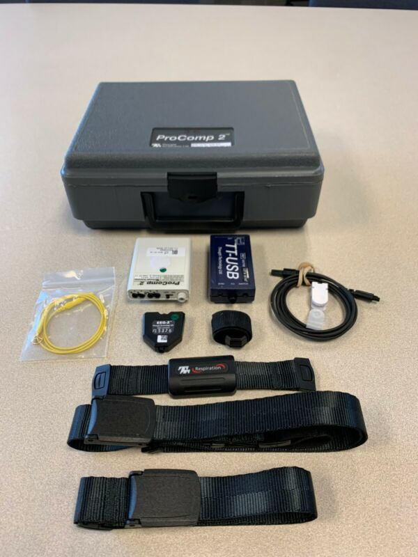 Thought Technology Pro Comp 2 Neurofeedback Kit - 2019 Model