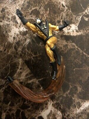 Marvel Legends toybiz Small Mini Figure YELLOWJACKET part from Wonder Man Loose