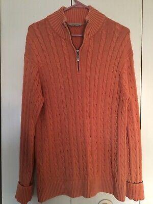 Paradise Collection Medium Peach Tight Braided Knit Cuffs Collar ()