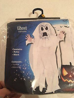 Halloween Costume Boys Ghost Large