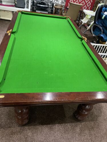 Pool Table 7x4ft  - Slate Bed,  Re -clothed  - Pristine Condition