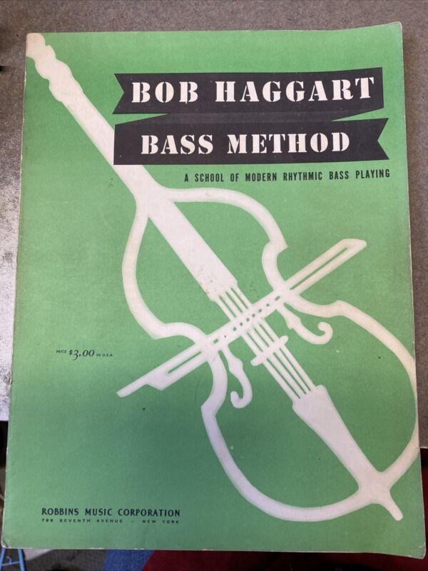Bob Haggart Bass Method a school of modern rhythmic bass playing 1941