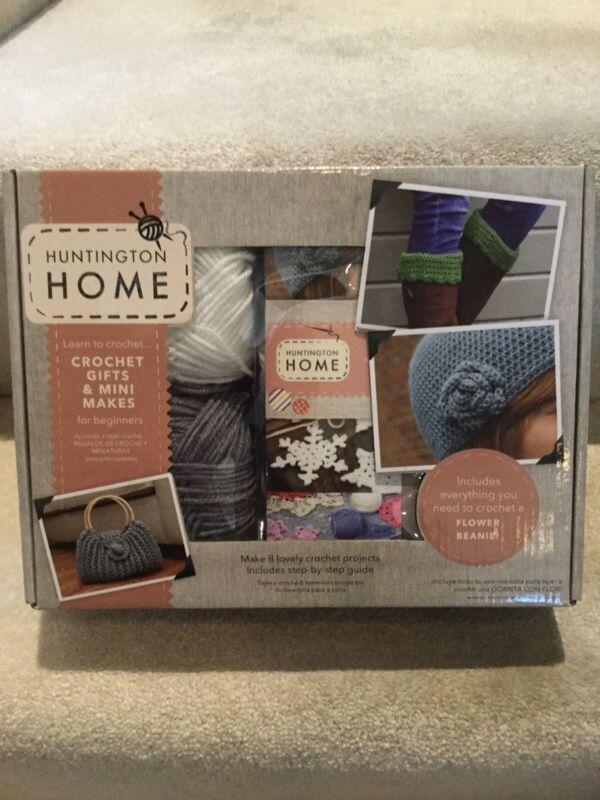 Huntington Home Set for Beginners - Needles, Yarn, & Instruction Book New