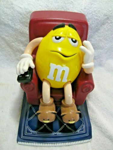 Vintage Collectible M&M PEANUT Recliner Candy Dispenser-MARS Candy Company Diner