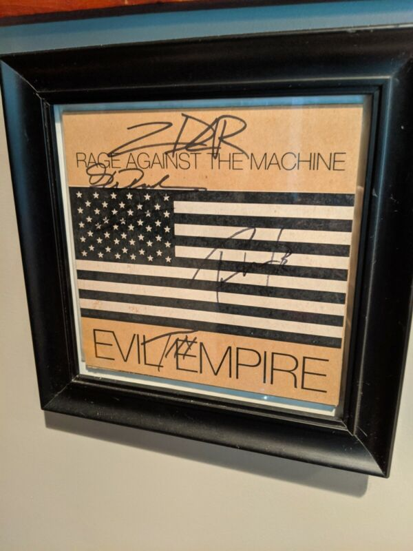 Rage Against The Machine Evil Empire (Signed)