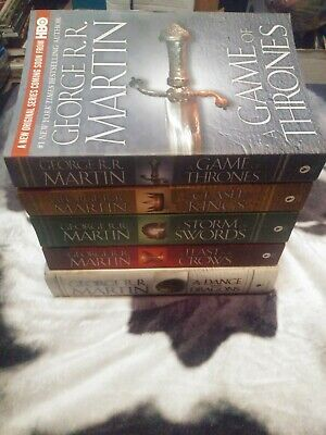 Game of Thrones - A Song of Ice and Fire 5 Book Set