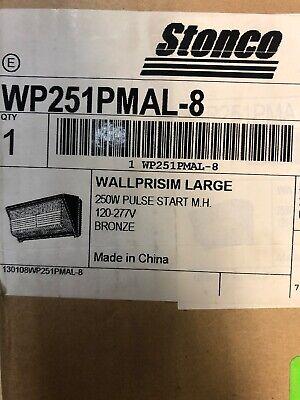 Stonco Light Wp251pmal-8 250w Metal Halide Mh Wallpack