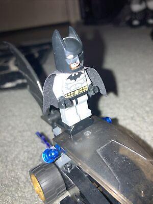 LEGO BATMAN DRAGSTER 7779! (BATMOBILE VEHICLE MISSING CATWOMAN BIKE & FIGURE)
