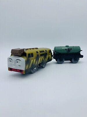 DIESEL 10 Coal Dust Thomas & Friends Trackmaster Motorized Train W/ Tanker