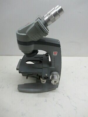Ao American Optical 10-8 Spencer Binocular Microscope Base Student Lab Unit