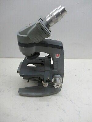 Ao American Optical 10-8 Spencer Binocular Microscope Base Student Lab Unit