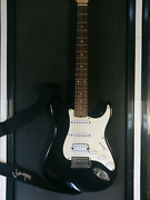 Fender Squier Fat Strat Electric Guitar Hartley Lithgow Area Preview