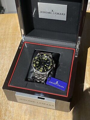 Chagall - Jerome Lemars Mens Watch Swiss Automatic Movement MSRP $1145