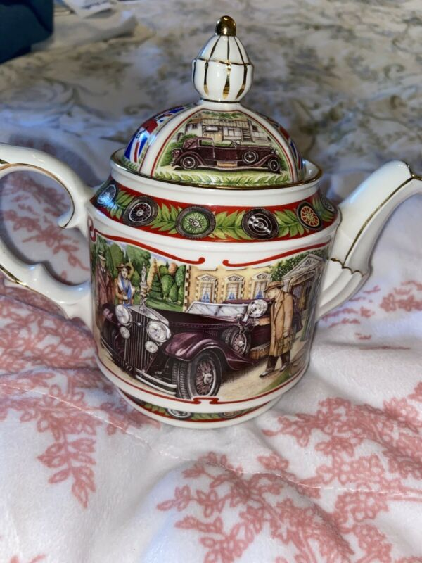 "James Sadler Teapot Pattern The Golden Age Of Travel ""The Open Road"""