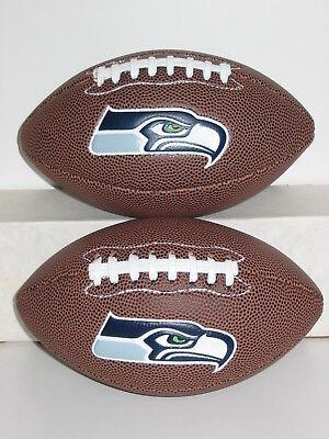 2 Seattle Seahawks Mini Football Tailgate Party Guy Girl Kids Boy Dad Fan Gift - Seahawks Party