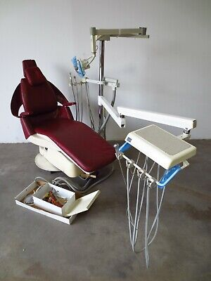 Royal Dental Chair With Delivery Unit Exam Light Complete Setup 2