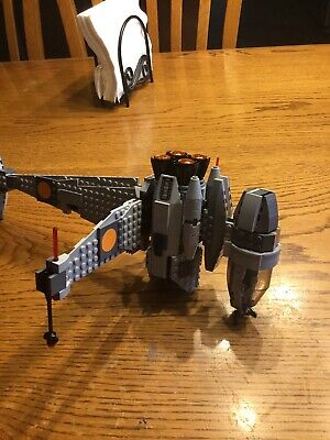 LEGO-Star-Wars-75050-B-Wing/1 99% Complete with instructions & 3 mini figures