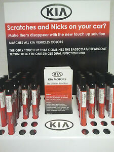 Kia Touch Up Paint Color Code SWP Snow White Pearl UA011 TU5014SWP Factory Match