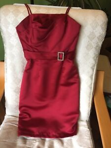 Red dress, size 2