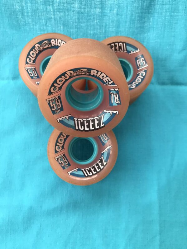 Cloud Ride Iceez Longboard Wheels 59mm 78a