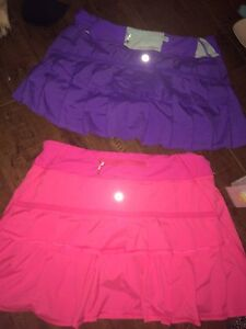 2 lulu lemon skirts for sale