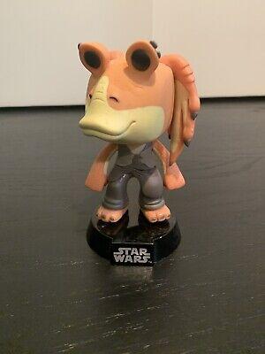 jar jar Binks Bobble head Funko Pop Super Rare OOB Star Wars