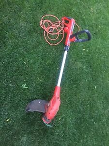 Black and decker weed wackier grass trimmer with extension cord