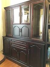 DISPLAY CABINET - Antique Look in perfect condition Albert Park Port Phillip Preview