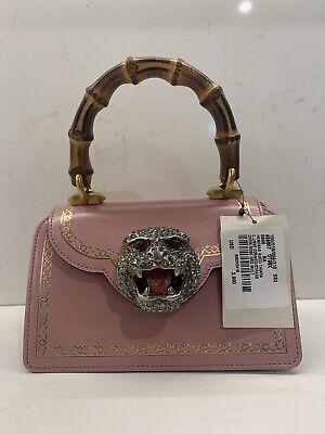 NEW ($3,800) Gucci Thiara Small Broadway Bag Pink - 100% Authentic
