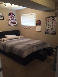 Basement bedroom for rent!