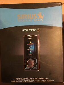 Sirius Stiletto 2 docking station parts etc