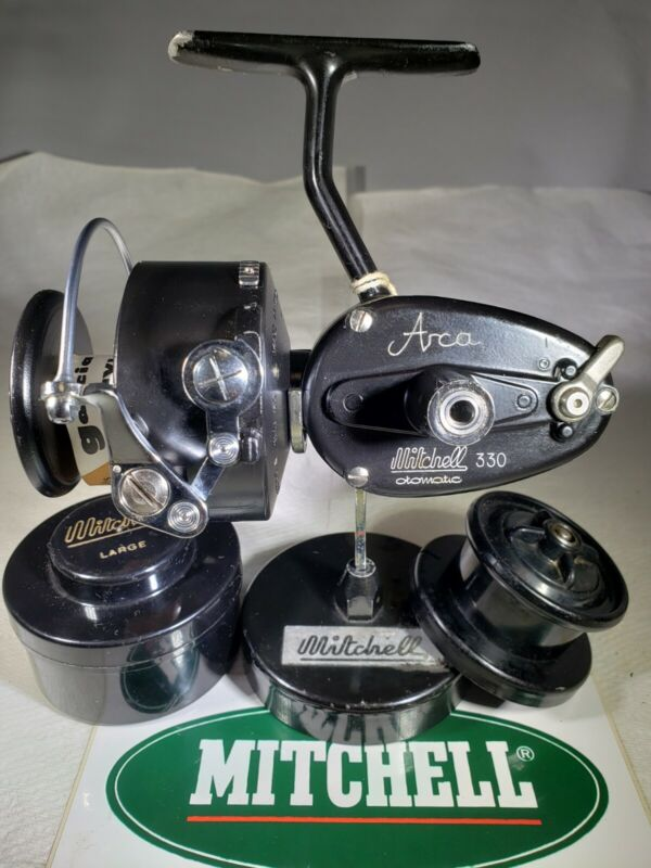 Mitchell Otomatic 330 ARCA  Reel Very Rare & Restored !