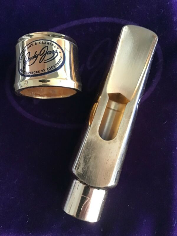 Jody Jazz DV 7 Alto Sax Mouthpiece with Power Ring ligature