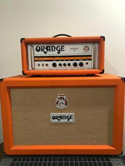 Orange Rocker 30 + 2x12 Cabinet + Cases