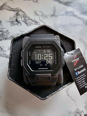 Casio G-Shock G-LIDE GBX-100NS-1ER Black Bluetooth Vibration
