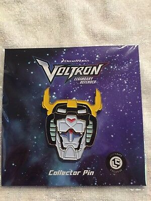 Voltron Legendary Defender Loot Crate Exclusive Enamel Lapel Pin Free Ship In US