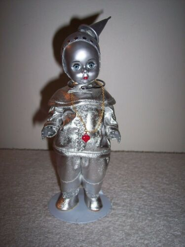 """MADAME ALEXANDER WIZARD OF OZ """"THE TIN MAN"""" 8"""" DOLL WITH STAND"""