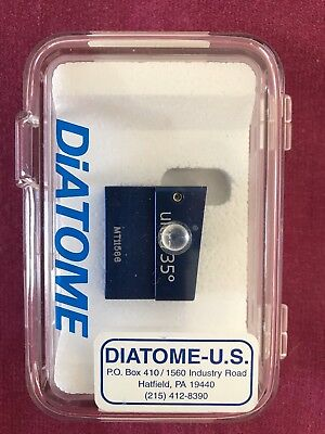 New Diatome Ultra 35 Degree 4.0 Mm Knife For Electron Microscopy- Mt11566