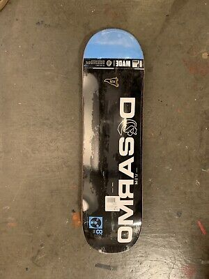 New Primitive Wade Desarmo Long Play 8.25 Skateboard Deck. Free MOB Grip