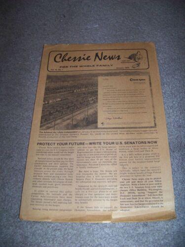 January 1978 Chessie News Julian Rushkind Hays T. Watkins Mayor Vincent J Thomas