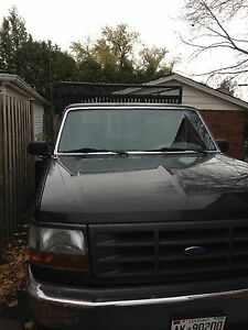 1997 Ford F-350 with cage
