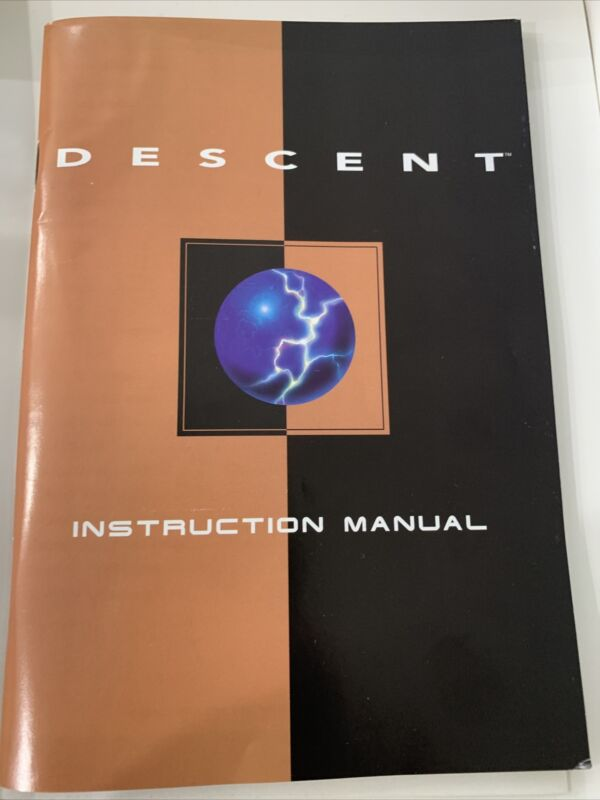 Descent BIG BOX (PC, 1995)
