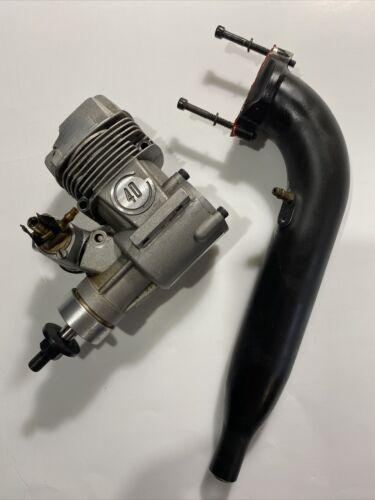 SuperTiger GS40 Ring R/C Engine W/ Macs Muffler Pipe - $50.00