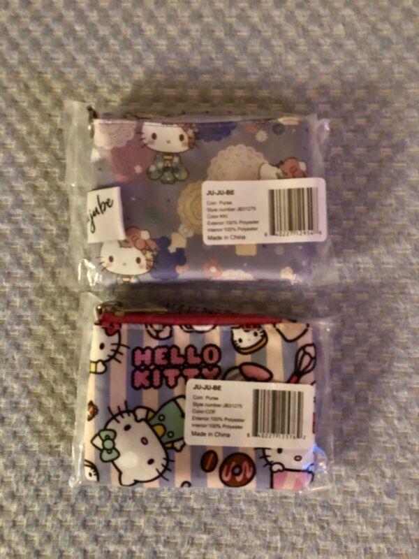 JuJuBe Hello Kitty Kimono & Hello Kitty Bakery Coin Purse NWT