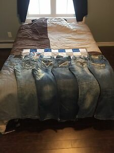 Men's denim jeans 34x32